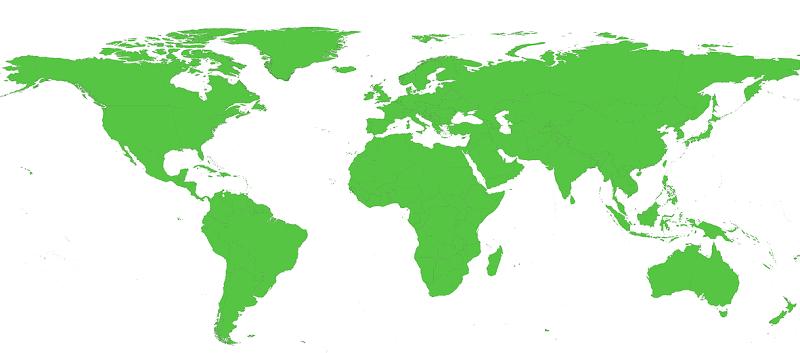 un mapamundi